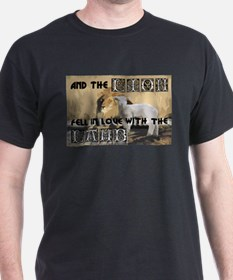 Twilight Movie Lion Lamb T-Shirt