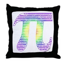 Evan's Pi #2 Throw Pillow
