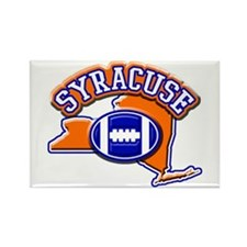 Syracuse Football Rectangle Magnet