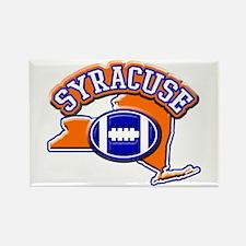 Syracuse Football Rectangle Magnet