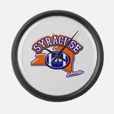 Syracuse Football Large Wall Clock