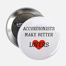 "Musicolicious Accordion Gift 2.25"" Button"