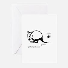 Rottsnest Quokka Greeting Cards (Pk of 10)