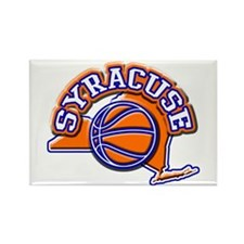 Syracuse Basketball Rectangle Magnet