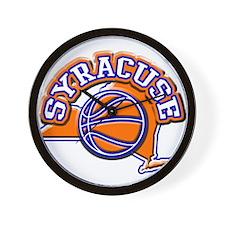 Syracuse Basketball Wall Clock
