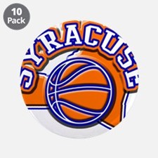 """Syracuse Basketball 3.5"""" Button (10 pack)"""