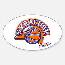 Syracuse Basketball Oval Decal