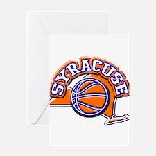 Syracuse Basketball Greeting Card