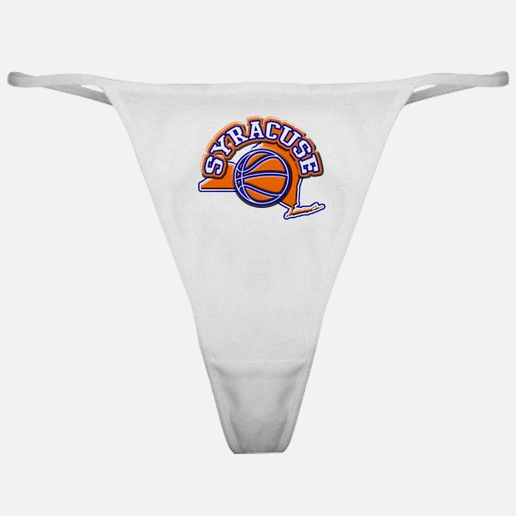 Syracuse Basketball Classic Thong