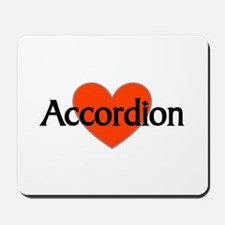 Musicolicious Accordion Gift Mousepad