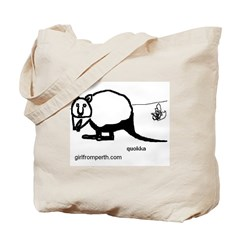 Rottsnest Quokka Tote Bag