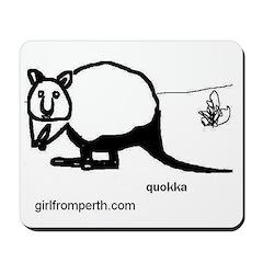 Rottsnest Quokka Mousepad