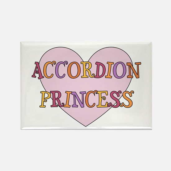 Musicolicious Accordion Gift Rectangle Magnet
