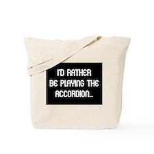 Musicolicious Accordion Gift Tote Bag