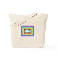 Born 2B Breastfed Tote Bag