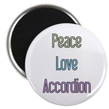 Musicolicious Accordion Gift Magnet