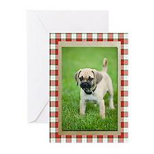 Puggle Christmas Cards (Pk of 10)