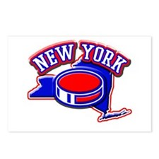 New York Hockey Postcards (Package of 8)