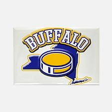 Buffalo Hockey Rectangle Magnet