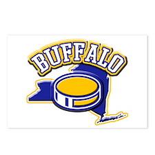 Buffalo Hockey Postcards (Package of 8)