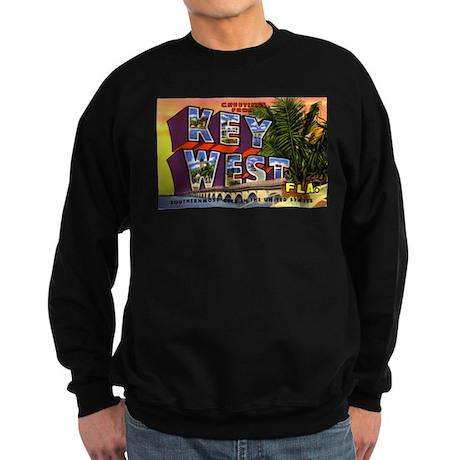 Key West Florida Greetings Sweatshirt (dark)