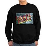Finger Lakes New York Sweatshirt (dark)