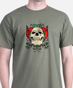 Skull and Heart T-Shirt