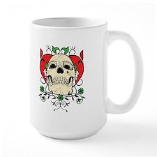 Skull and Heart Mug