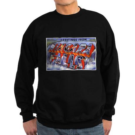 Niagara Falls Greetings Sweatshirt (dark)