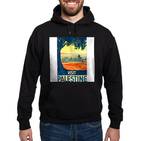 Palestine Travel Hoodie (dark)