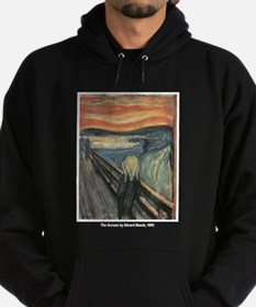 Edvard Munch Scream Hoodie (dark)