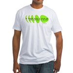 Life Without a Blog Fitted T-Shirt