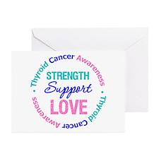 ThyroidCancerSupport Greeting Cards (Pk of 10)