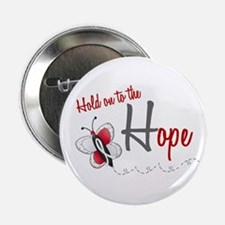 """Hold On To Hope 1 Butterfly 2 PEARL/WHITE 2.25"""" Bu"""