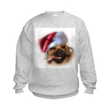 A Puggle Christmas Sweatshirt