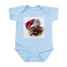 A Puggle Christmas Onesie