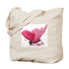 Grumpy Butterfly Tote Bag