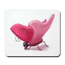 Grumpy Butterfly Mousepad