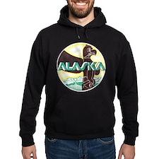 Alaska Totem Pole Hoodie