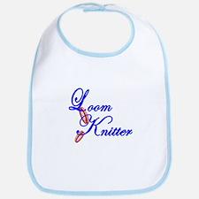 Loom Knitter Bib