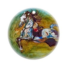 Capriole Andalusian - Ornament (Round)