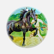 Friesian Keuring - Ornament (Round)