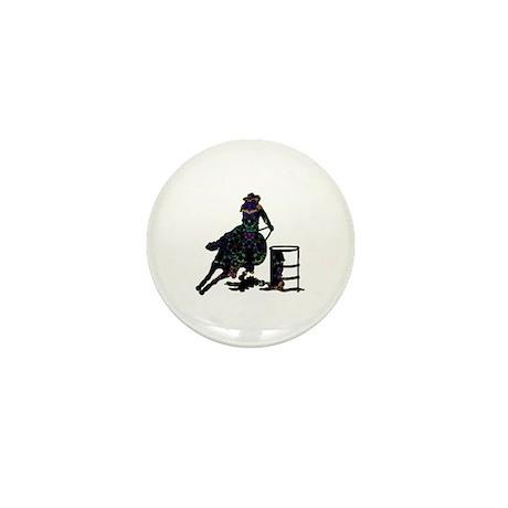 Floral Barrels Mini Button (100 pack)