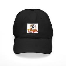 Gorra negra con logo