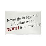 Against a Sicilian Rectangle Magnet (10 pack)