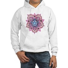 Lace and Faces Flower Hoodie