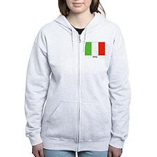 Italy Italian Flag Zip Hoodie