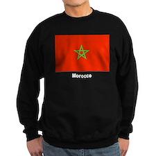 Morocco Moroccan Flag Sweatshirt