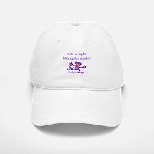 Little Spider Monkey Baseball Baseball Cap