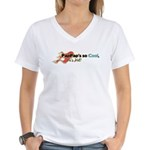 PapPap's so Cool Women's V-Neck T-Shirt